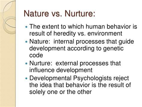 Nature nurture debate essay