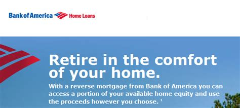 bank  america reverse mortgage shut