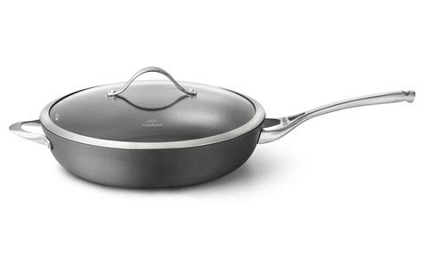 Calphalon Contemporary Nonstick Deep Skillet with Lid, 13