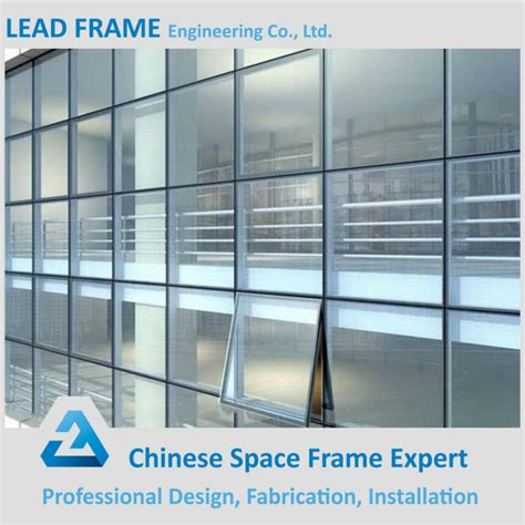 price commercial building glass curtain wall with iso