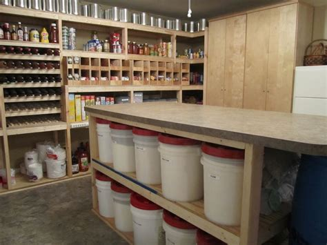 Walk In Basement Pantry. This Is My Dream Setup.