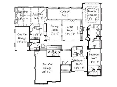 house plan oakton stephen fuller  floor plans