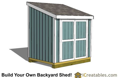 6x8 Storage Shed Plans Free by 6x8 Shed Plans 6x8 Storage Shed Plans Icreatables