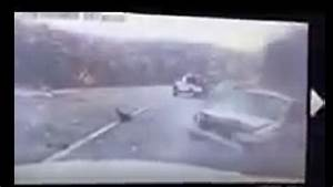 MSHP dash-cam video shows ending of icy cross over crash ...