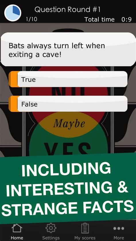 true  false challenge funny science quiz trivia game