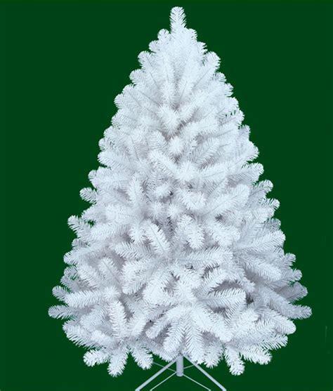 arbol de navidad blanco de lujo modelo washington