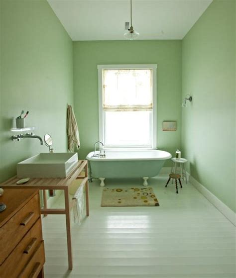 Light Mint Green Bathrooms  Bossy Color Annie Elliott. Nilson Homes. Red Sectional. New Classic Furniture. New Kitchen. Oval Desk. Trough Sinks For Bathrooms. Library Ladder Ikea. Flor Carpet Tiles