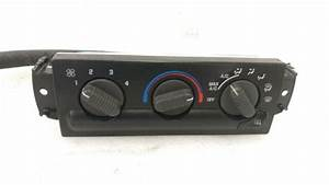 Chevy Gmc Manual Climate Control Ac Heat 98