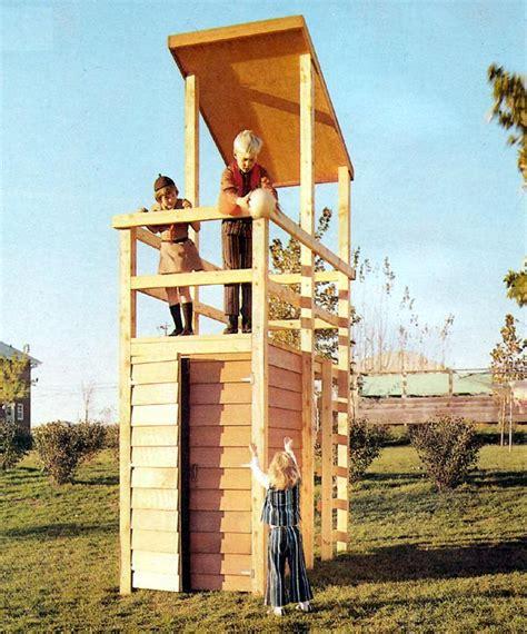 watchtower playhouse plan