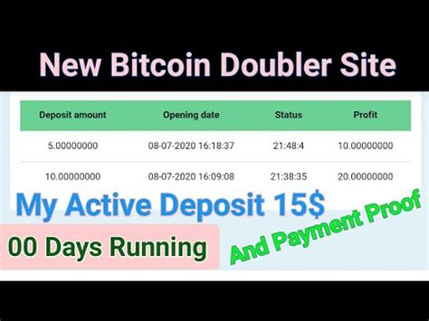 If you are interested in multiplying other currencies, we will provide such services soon. NEW DOUBLER BITCOIN Site LAUNCHED NOW | HOW TO Bitcoin Double? - YouTube