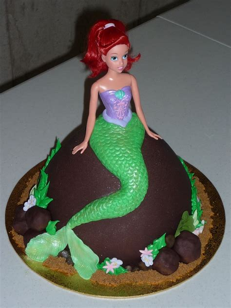mermaid cakecentralcom