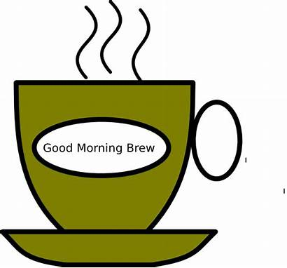 Morning Clip Clipart Brew Animated Cliparts Meeting