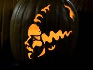 Halloween Kürbis Schablone : k rbislaterne basteln 51 schnitzvorlagen und ~ Lizthompson.info Haus und Dekorationen