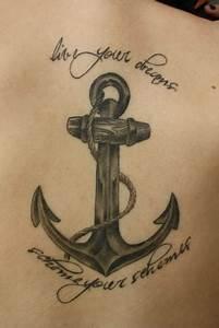Tattoo Hoffnung Symbol : janison anker text tattoos von tattoo ~ Frokenaadalensverden.com Haus und Dekorationen