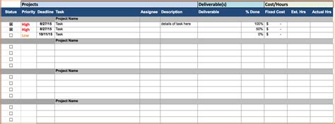 project cost tracking spreadsheet excel spreadsheets