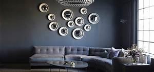 Miroir Deco Salon : comment bien utiliser le miroir en d co madame figaro ~ Melissatoandfro.com Idées de Décoration