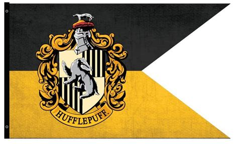 hufflepuff house colors hufflepuff outdoor flag harry potter gifts collectibles