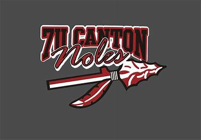 Baseball Canton Spirit Wear Team Noles Logos
