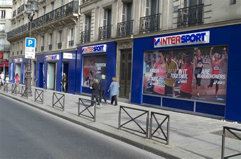 filieresport en images intersport rivoli mise sur les
