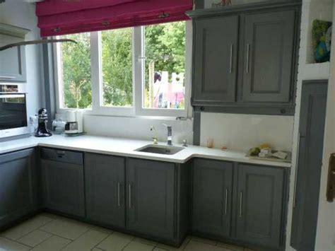 repeindre des meubles de cuisine en bois peinture meuble cuisine
