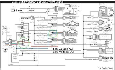 electrolux eidw6105gs1 dishwasher wiring diagram the appliantology gallery appliantology org