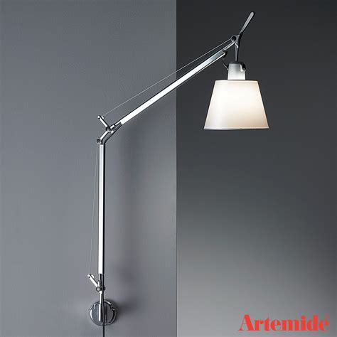 tolomeo with shade wall light artemide black friday sale