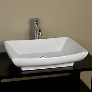 Bathroom: Small Bathroom Vessel Sinks With Soft Brown Wall