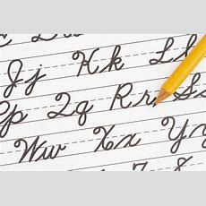 Why Do We Need Cursive Writing?  The Benefits Of Cursive
