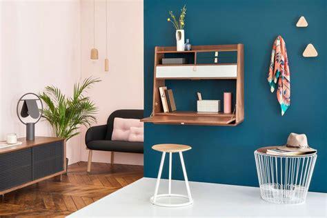 petit bureau pliable 6 idées de bureau mural rabattable pour petits espaces