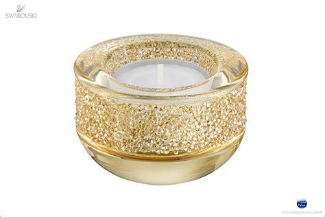 swarovski shimmer tea light swarovski shimmer tea light golden shadow