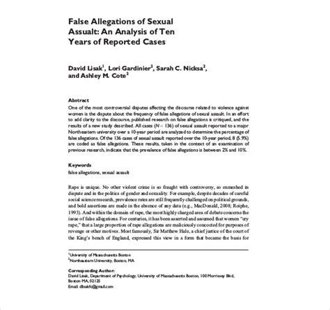 sample letter responding to false allegations 17 sample police report templates pdf doc free 153   False Allegations of Sexual Assualt