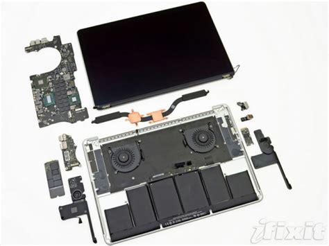 ifixit teardown apple macbook pro mit retina display und