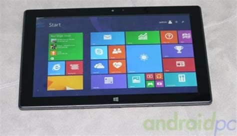 Tablet That Runs Windows Pipo Launches A New Dual Boot Tablet That Runs Windows 8 1