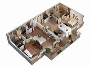 plans 3d pour seniors studio multimedia 3d at home With awesome plan d appartement 3d 4 plan de masse et appartement studio multimedia 3d at home