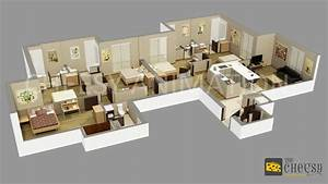 3D Floor Plan Design | 3D Floor Plan | 3D Floor Plan For House