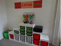 kids toy storage Creating a Kids' Playroom – Toy Storage   There Was a ...