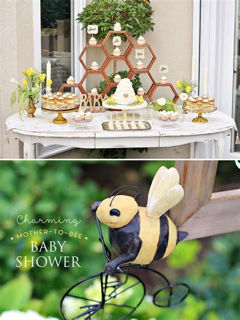 baby shower bee theme charming to bee baby shower vintage style