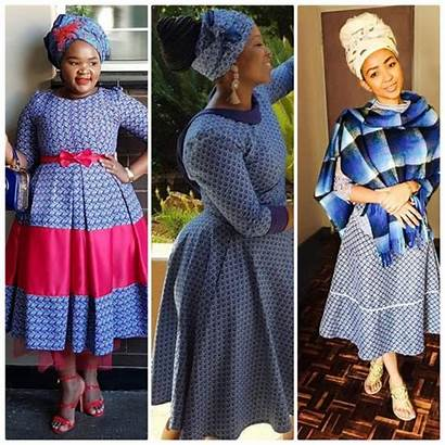 Traditional Dresses Shweshwe South Africa Skirt African10