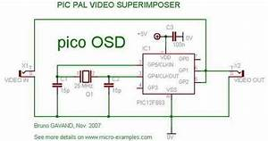 Pic12f683 Video Text Pal - Osd