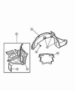 Chrysler Crossfire Shield  Engine Lower