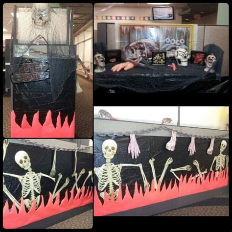 Scary Cubicle Decorating Ideas by Scary Cubicle Decorations