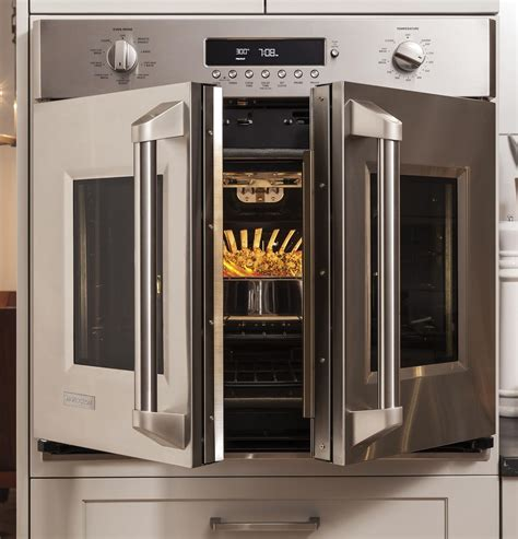 zetfhss monogram  professional french door electronic convection single wall oven