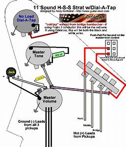 Hss Wiring Diagram For Screamin Demon B    Ssl