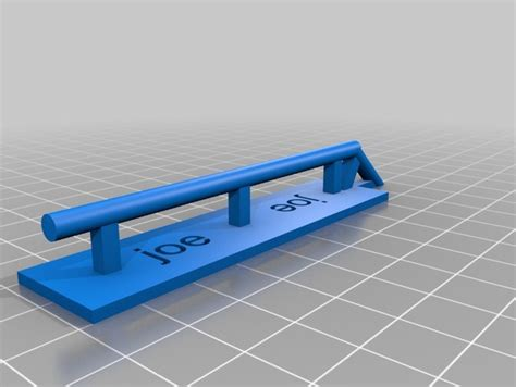 Tech Deck Rs And Rails by Tech Deck Grind Rail By Joebreault Thingiverse