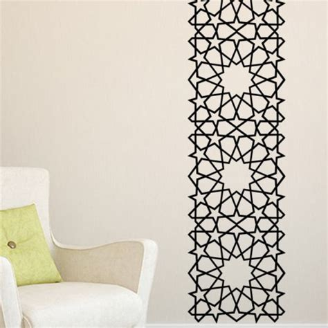 stickers arabesque 233 toiles carr 233 es pas cher stickers design discount stickers