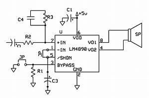 1 Watt Audio Amplifier For Mobile Device