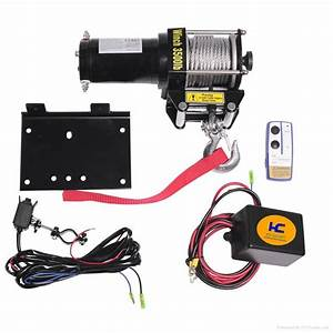 Atv Utility Electric Winches 3500lbs - Hc3500