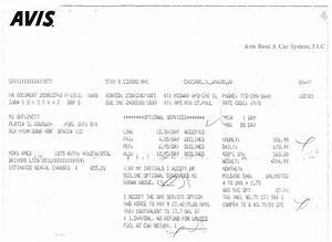 avis rental invoice 8 car rental invoice template word With avis uk invoice