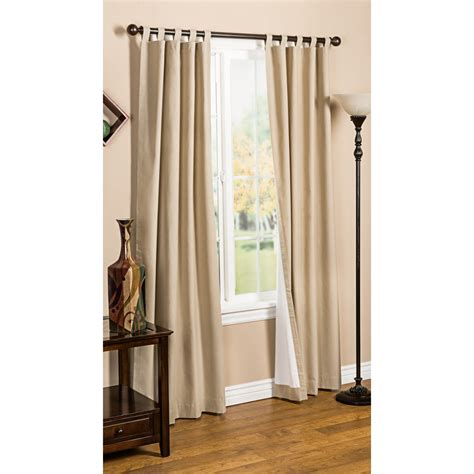 Thermal Lined Curtains Australia by Commonwealth Thermal Lined Tab Top Curtain Panels 94025