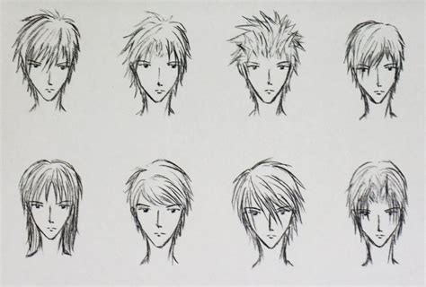 Cool Anime Hairstyles by Cool Anime Boy Hairstyles Hair